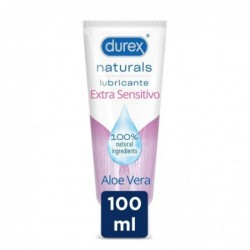 DUREX NATURALS GEL EXTR SEN100